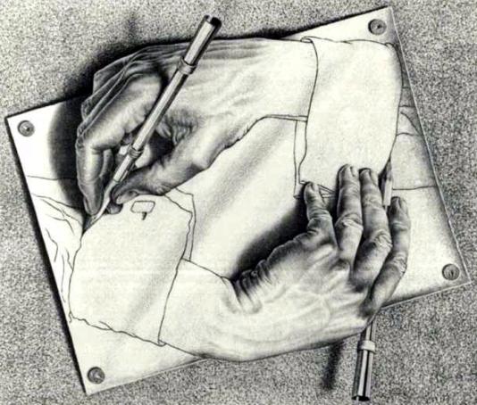 Quadro - Desenhando-se